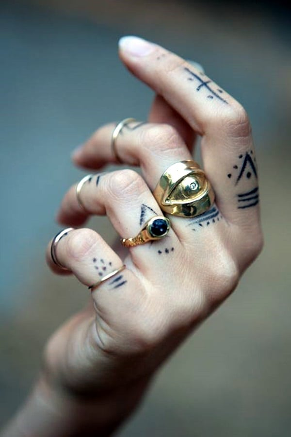 Cute Finger Tattoos Designs (65)