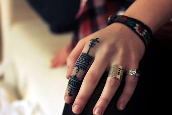 Cute Finger Tattoos Designs (66)