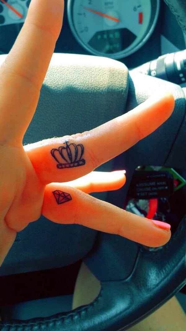 Cute Finger Tattoos Designs (70)