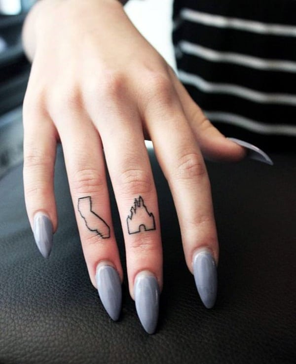 Cute Finger Tattoos Designs (83)