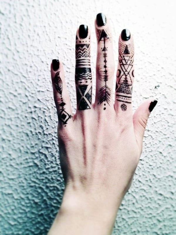 Cute Finger Tattoos Designs (91)
