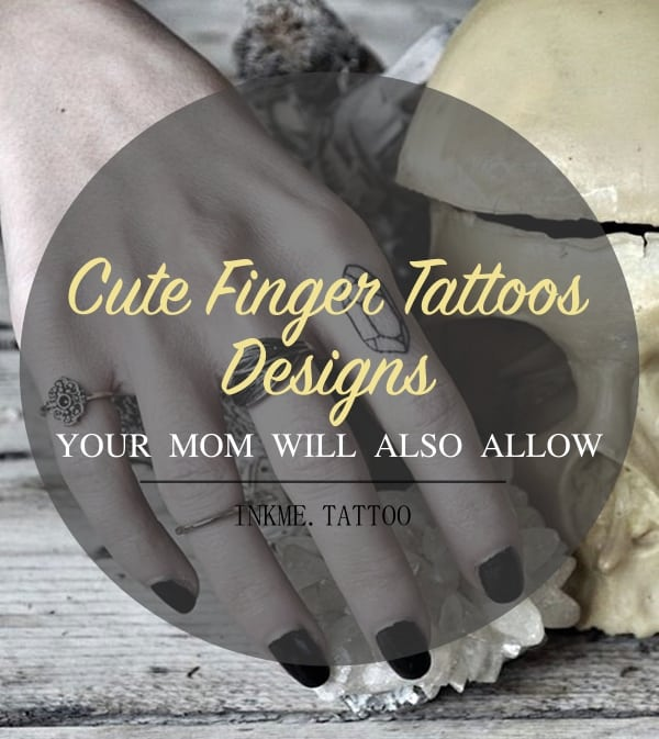 Cute Finger Tattoos Designs1.1