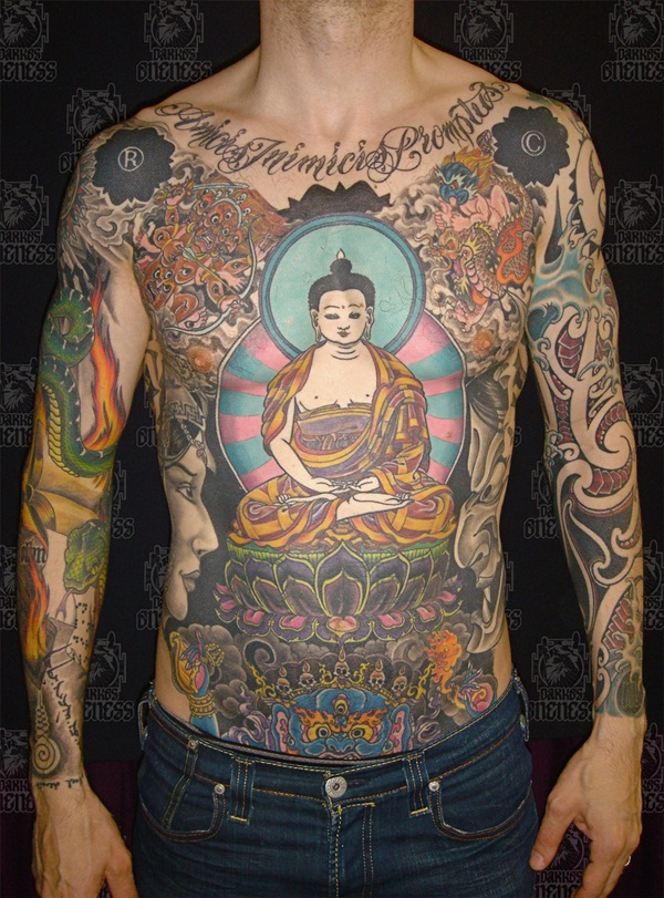 Full body tattoo designs for men and women12