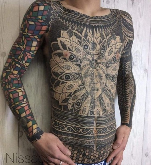 Full body tattoo designs for men and women14