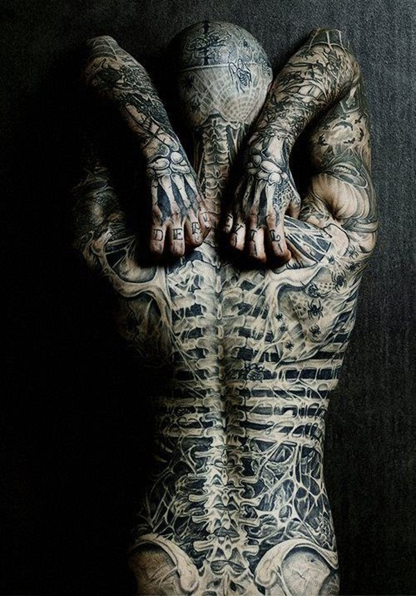 Full body tattoo designs for men and women17