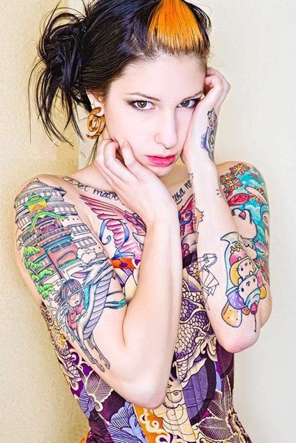 Full body tattoo designs for men and women28
