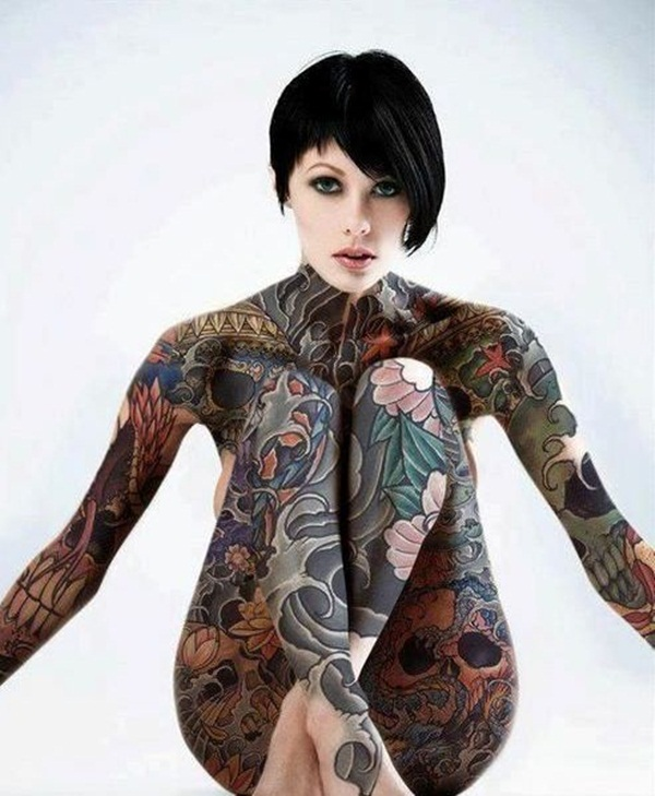 Complete full front body tattoos on naked girls opinion you