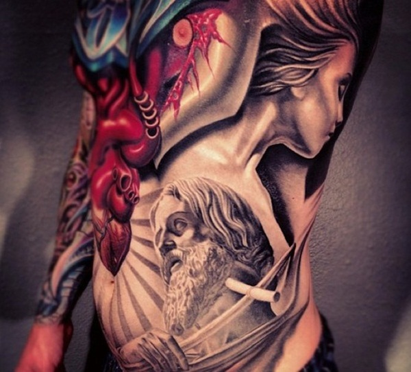 Full body tattoo designs for men and women36