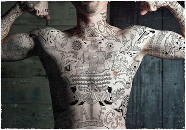 Full body tattoo designs for men and women39