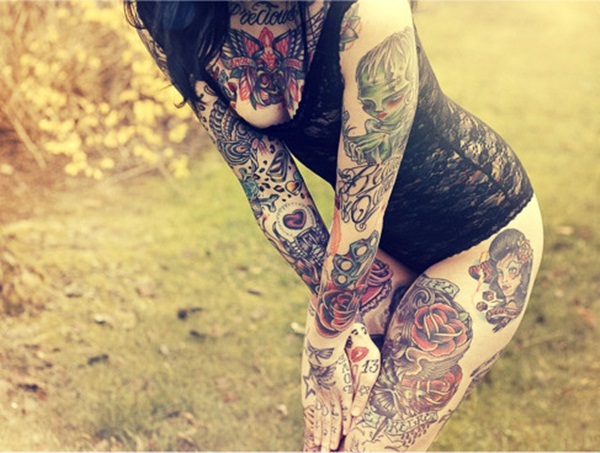 Full body tattoo designs for men and women40
