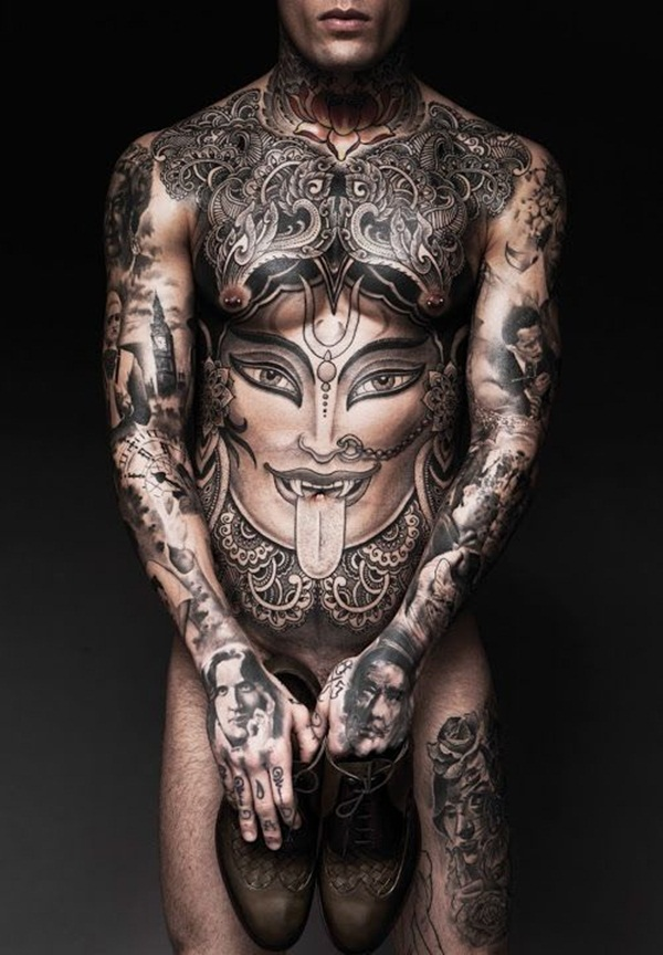 Full body tattoo designs for men and women45