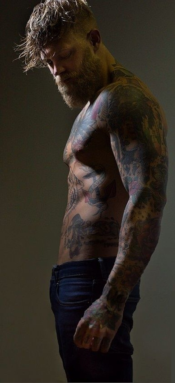 Full body tattoo designs for men and women50
