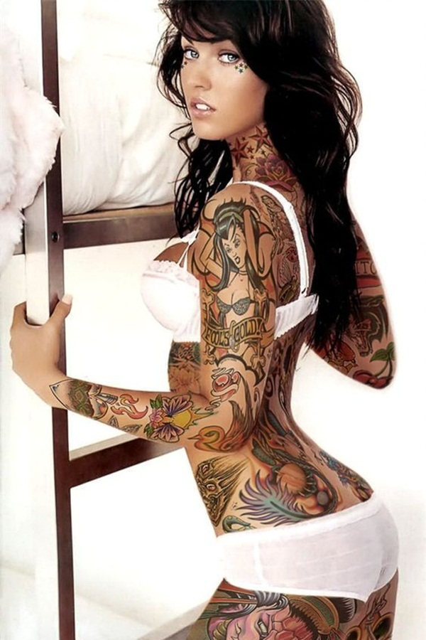 Full body tattoo designs for men and women56