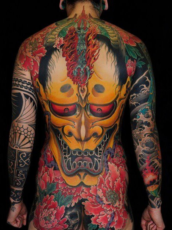 101 cool full body tattoo design for men and women for Japanese body tattoo