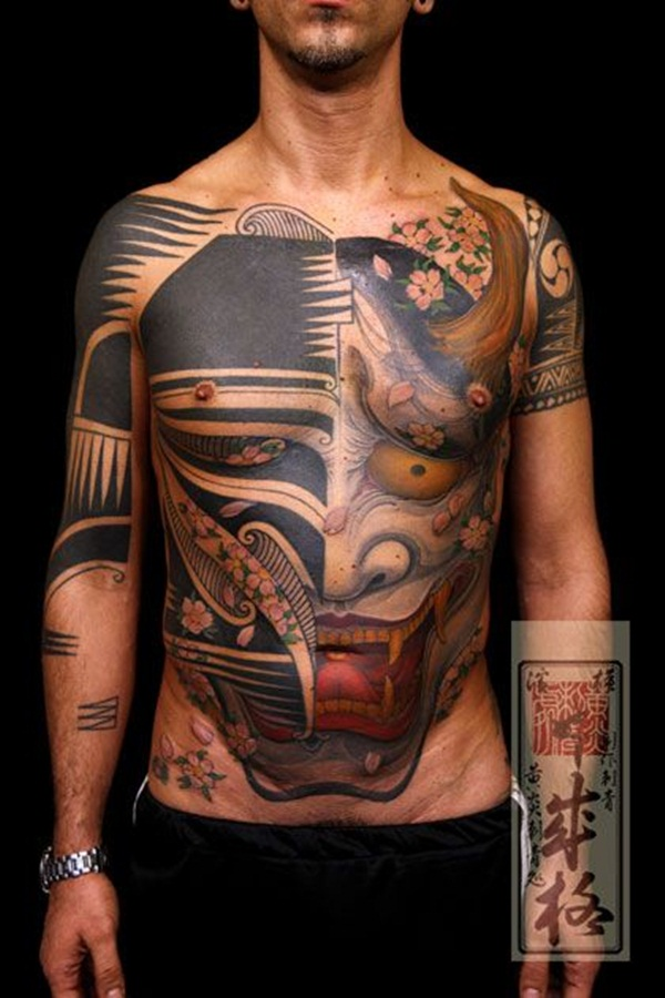 Full body tattoo designs for men and women58