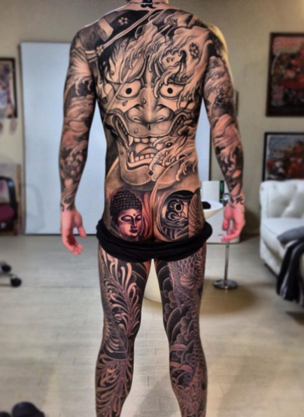 Full body tattoo designs for men and women6