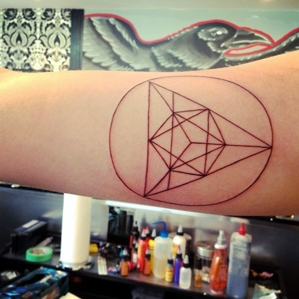 Geometric tattoo designs and ideas10