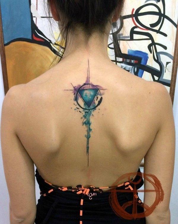 Geometric tattoo designs and ideas19