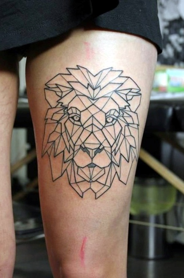 Geometric tattoo designs and ideas20