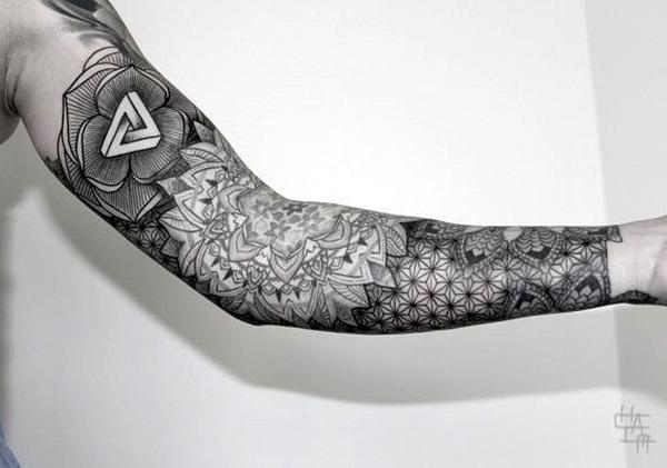 Geometric tattoo designs and ideas22