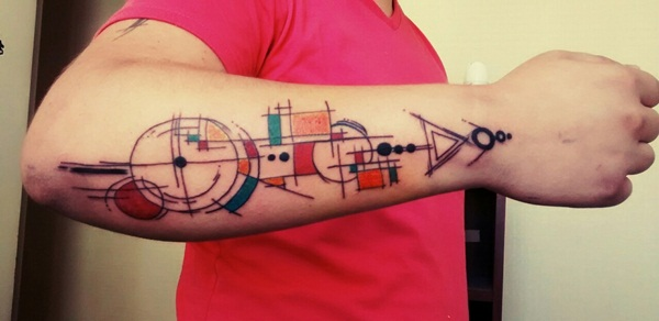 Geometric tattoo designs and ideas27