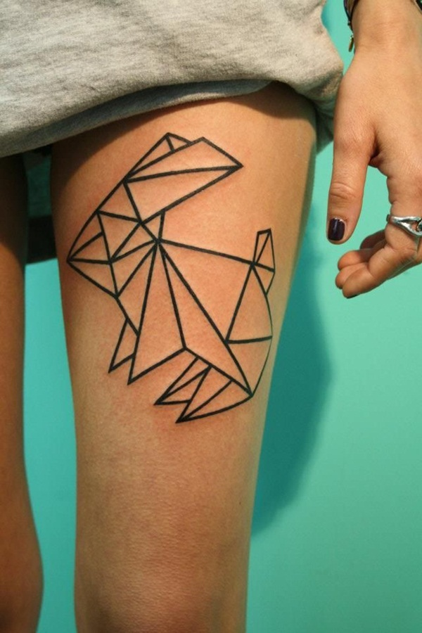 Geometric tattoo designs and ideas31