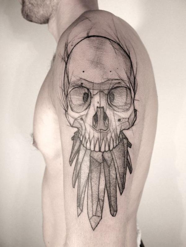 Geometric tattoo designs and ideas38