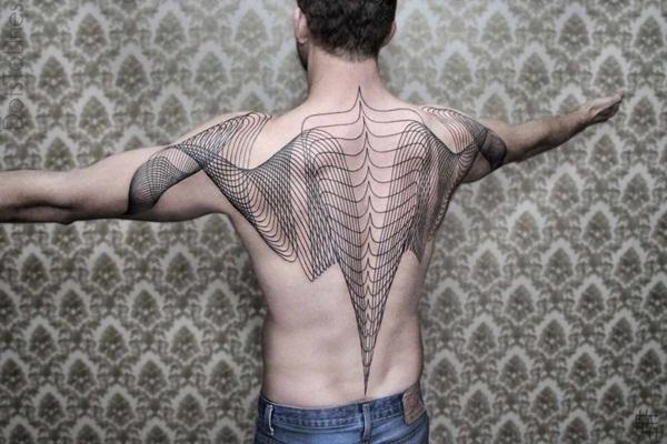 Geometric tattoo designs and ideas39