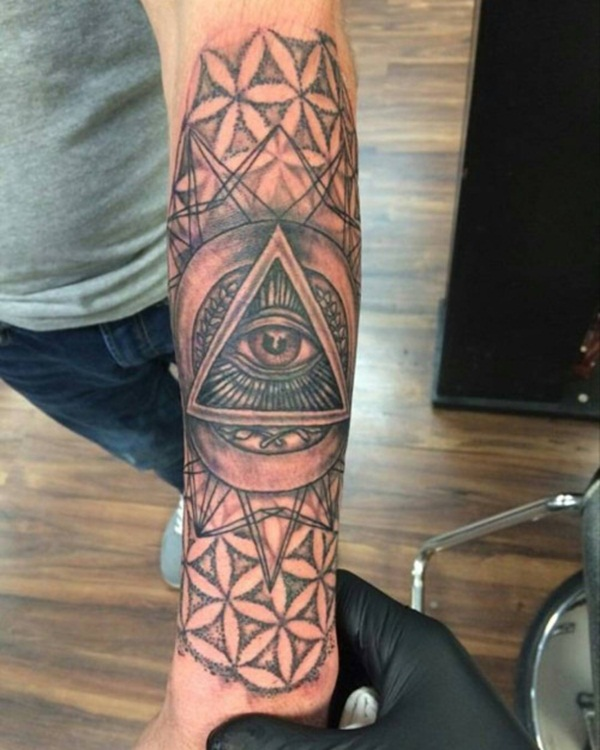 145 Of The Most Sacred And Eye Catching Geometric Tattoo Designs