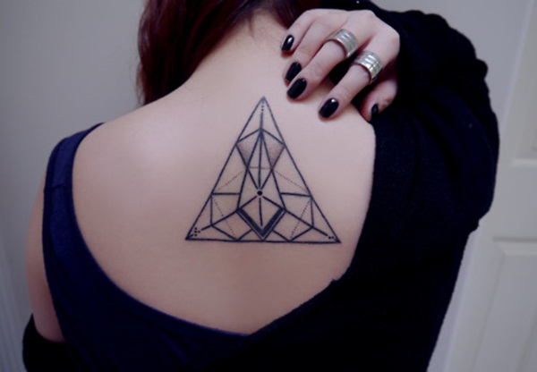 Geometric tattoo designs and ideas43