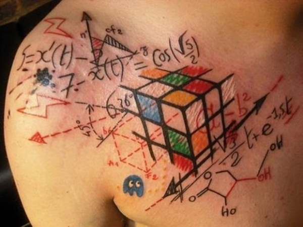 Geometric tattoo designs and ideas45