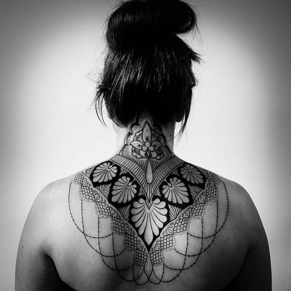 Geometric tattoo designs and ideas49