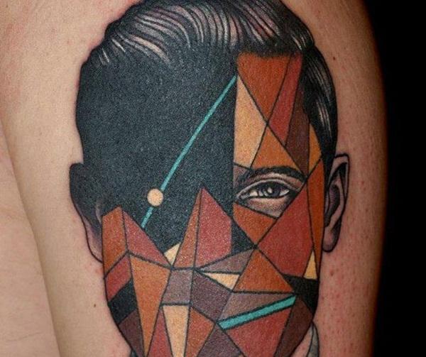 Geometric tattoo designs and ideas51