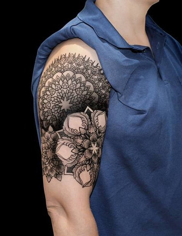 Geometric tattoo designs and ideas52