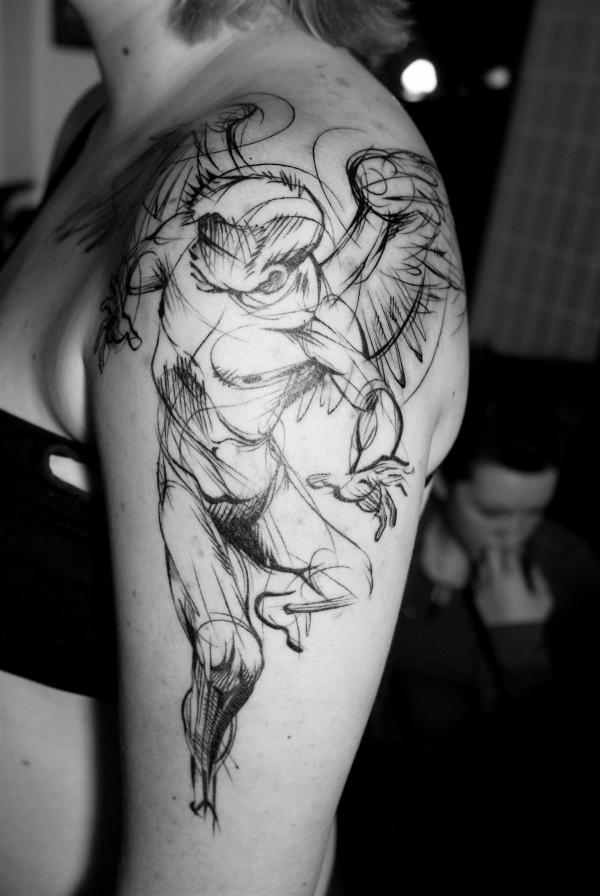 Geometric tattoo designs and ideas54