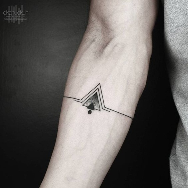 Geometric tattoo designs and ideas59