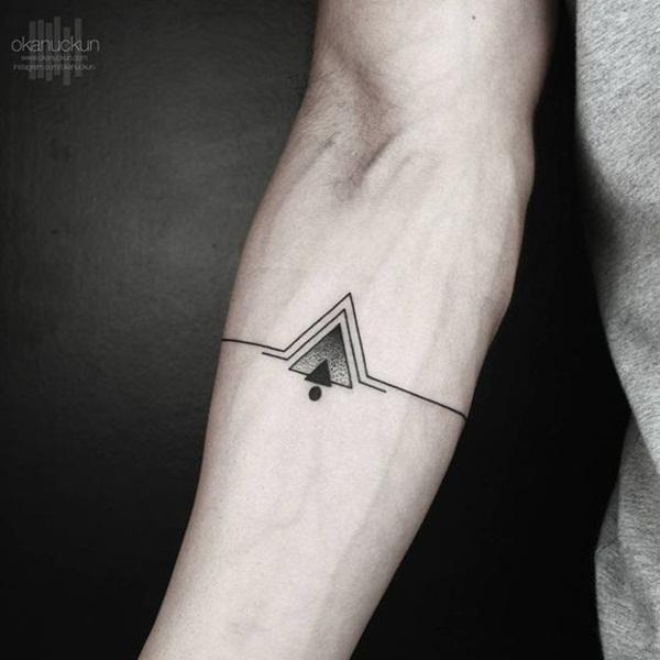 Geometric tattoo designs and ideas59