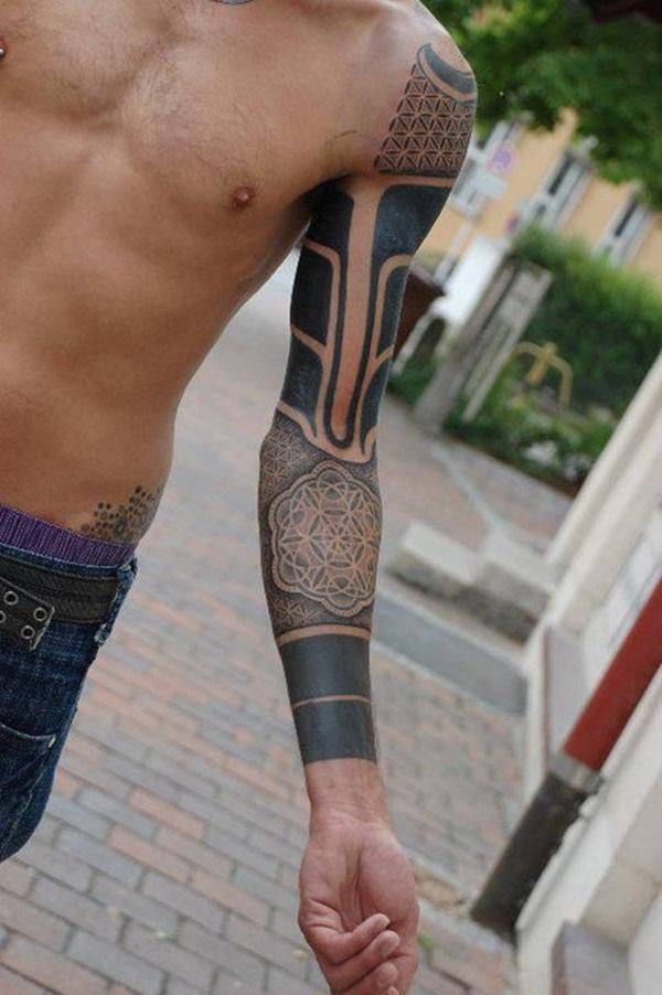 Geometric tattoo designs and ideas65
