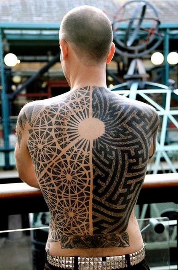 Geometric tattoo designs and ideas67