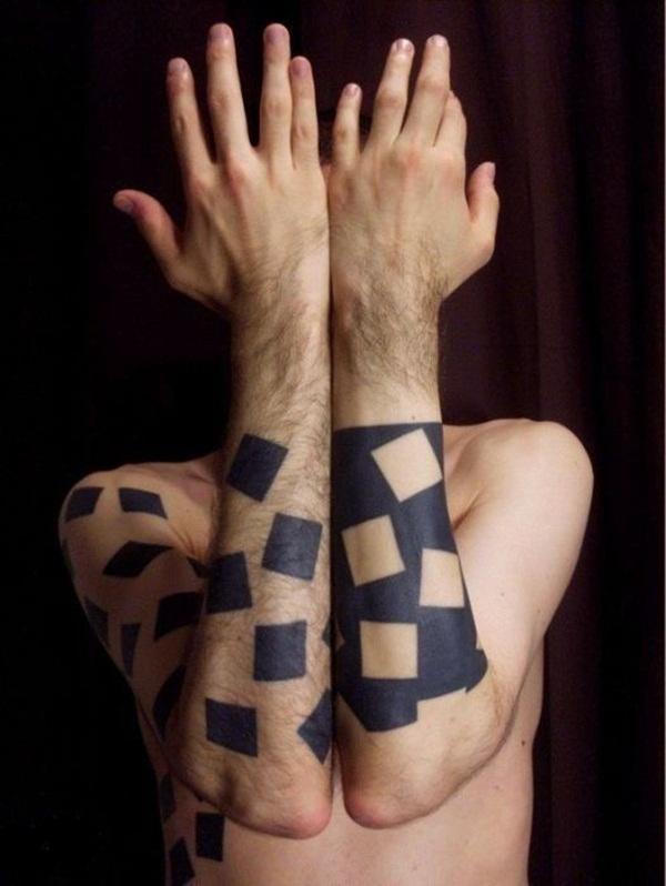 Geometric tattoo designs and ideas71