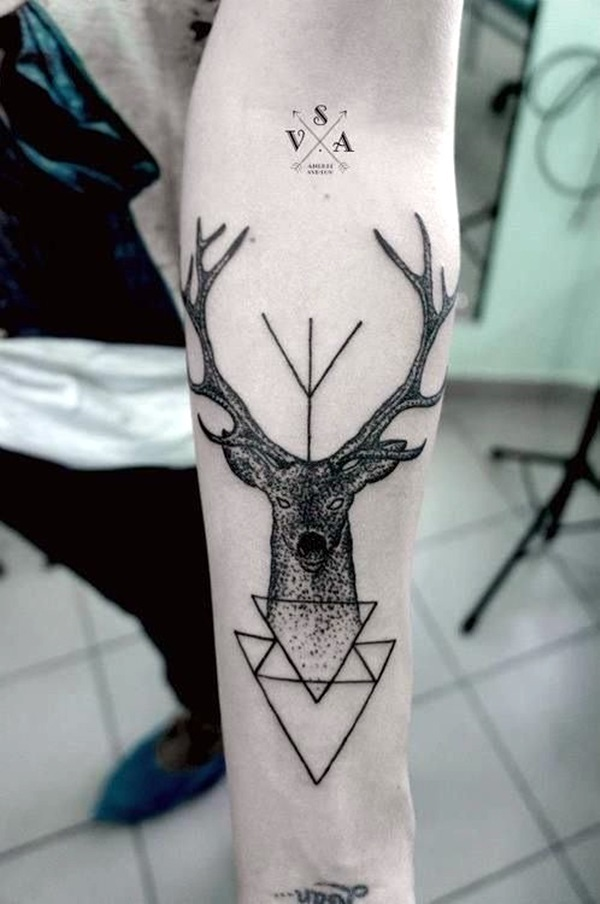 Geometric tattoo designs and ideas9