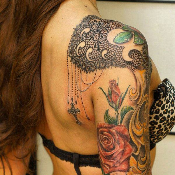 Lace Tattoo designs11