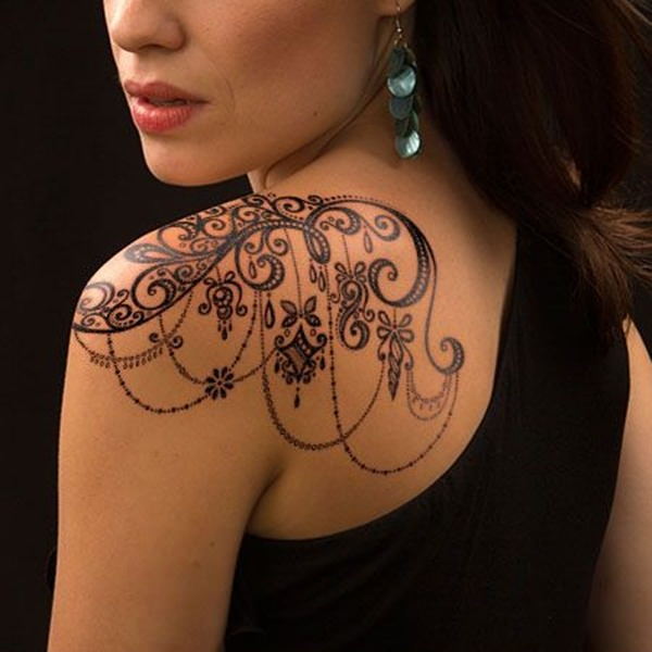 Lace Tattoo designs14