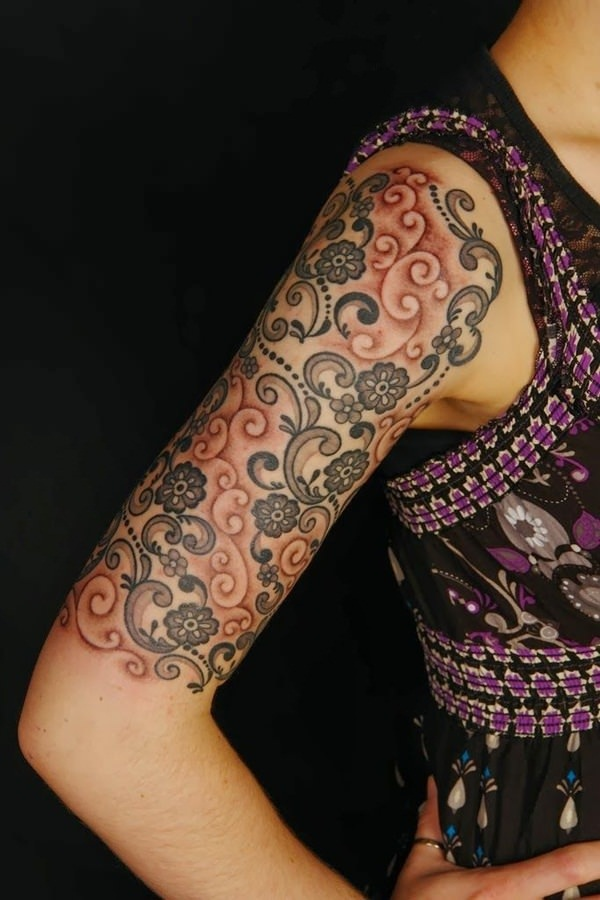 Lace Tattoo designs15