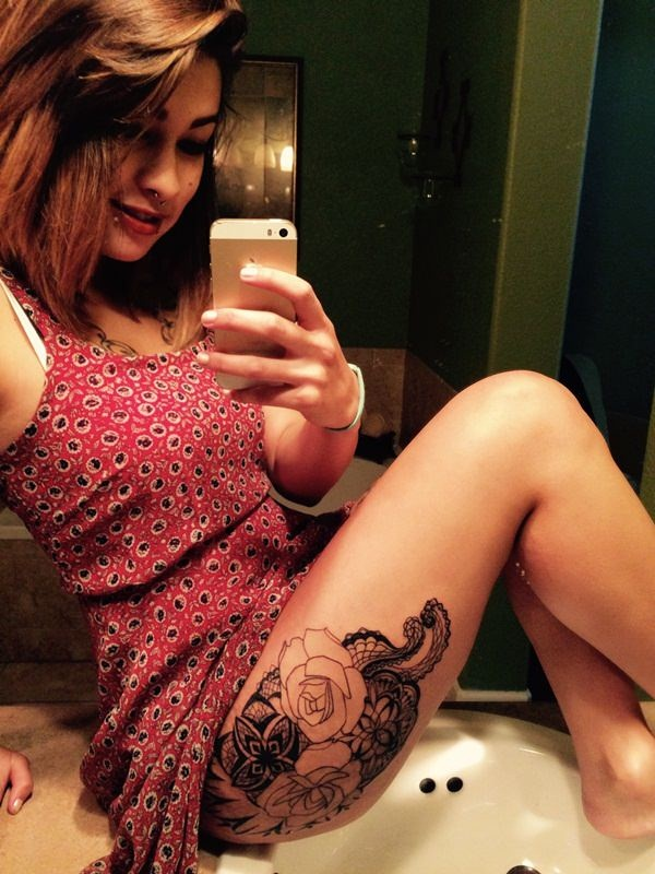 Lace Tattoo designs19