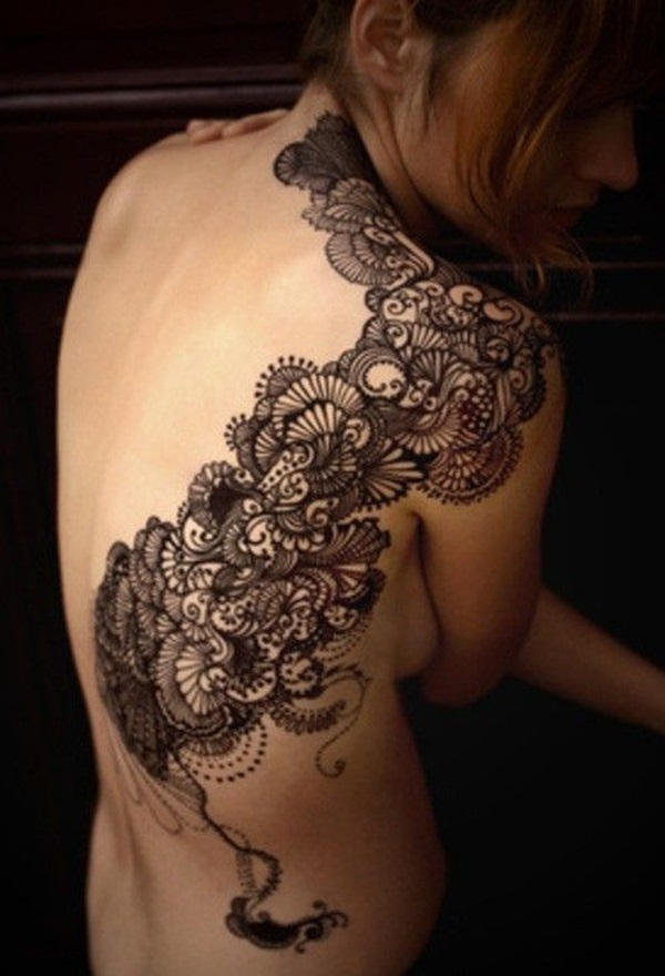 Lace Tattoo designs2