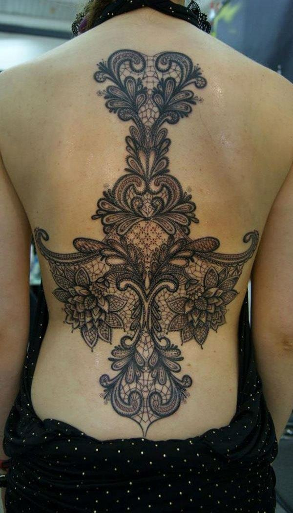 Lace Tattoo designs26