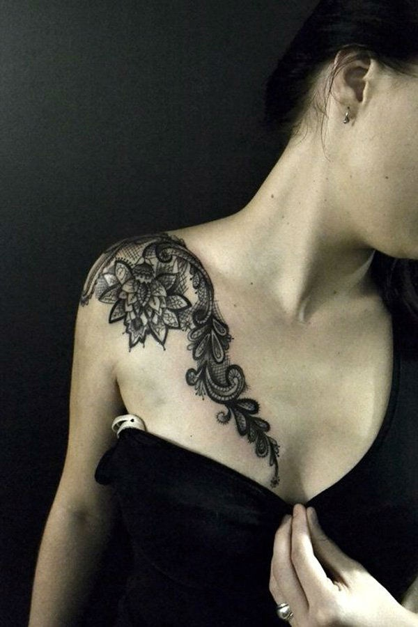 Lace Tattoo designs36