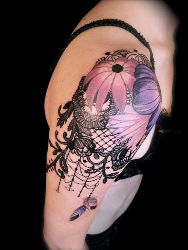 Lace Tattoo designs46