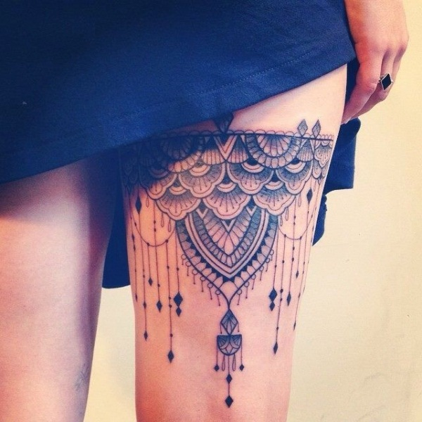 Lace Tattoo designs48